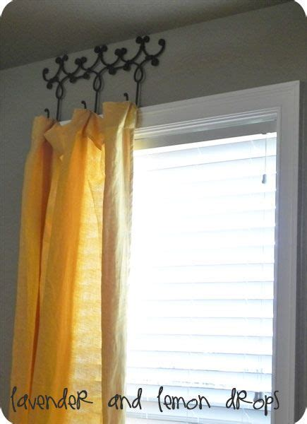 ideas to hang curtains best 25 hanging curtain rods ideas on pinterest how to