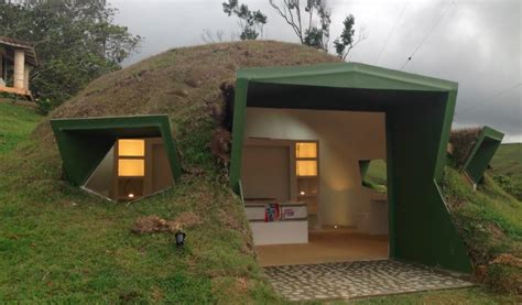 a hobbit home of your own hilly grass covered prefabs