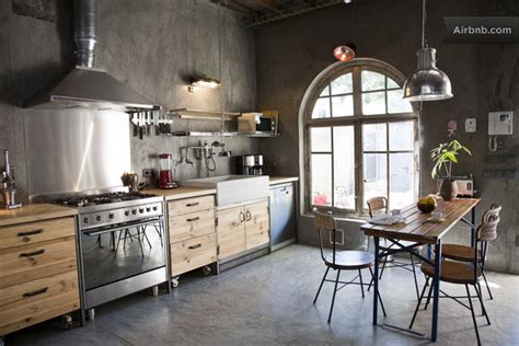 industrial chic apartment with an inviting appeal decoholic - Industrial Chic
