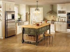 Kitchens With Different Colored Islands Kitchen Layouts Kitchendecorate Net