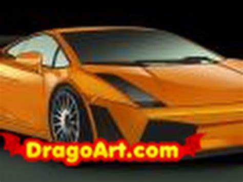 How Does It Take To Make A Lamborghini How To Draw A Lamborghini Gallardo Step By Step