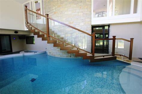 Modern Indoor Pool Modern Pool chicago by Rosebrook Pools, Inc.
