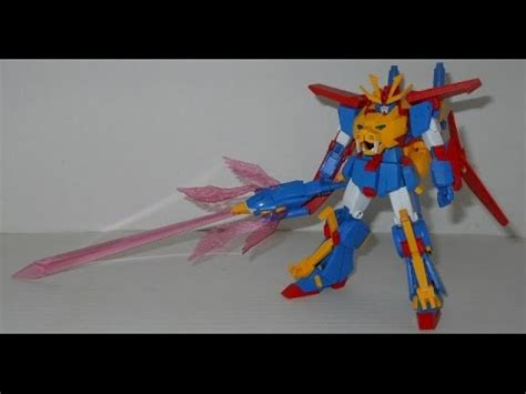 High Grade Gundam Tryon 3 high grade tryon 3 custom review