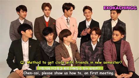 exo interview eng 150108 exo interview with ivy club youtube