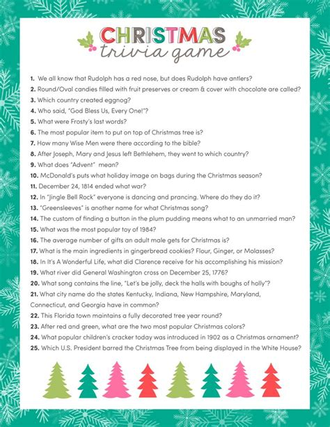 free printable christmas quizzes uk best 25 christmas trivia games ideas on pinterest