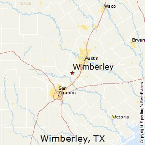 map of wimberley best places to live in wimberley