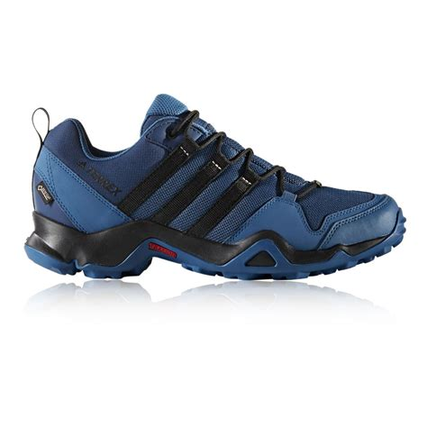 adidas terrex ax2r mens blue tex waterproof walking hiking shoes ebay