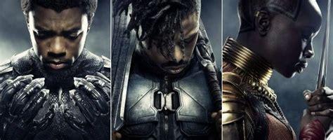 film seri marvel black panther charakterposter zum marvel film