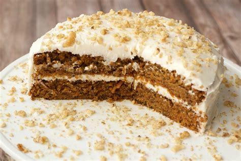 Cake Icing by Moist Vegan Carrot Cake With Lemon Buttercream Frosting
