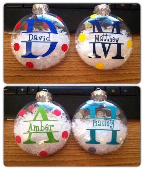 cristmas ball write name best 25 vinyl ornaments ideas on glass ornaments how to make