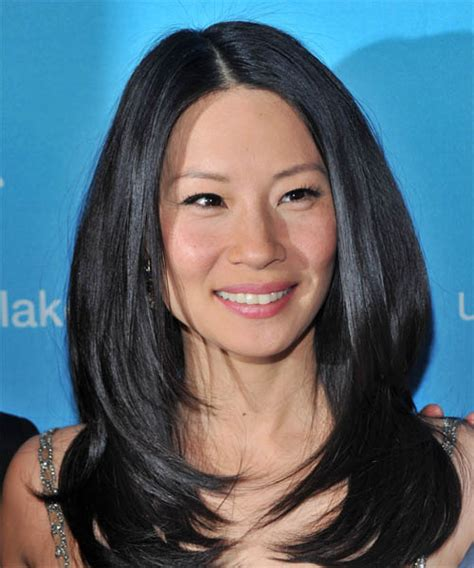 lucy liu straight hair the glossiest a list styles instyle uk lucy liu hairstyles in 2018