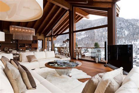 Mountainside House Plans Passion For Luxury Chalet Zermatt Peak The Premier