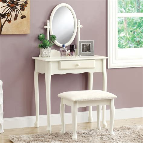 Bedroom Vanity White by Monarch Bedroom Vanity Set Antique White Bedroom