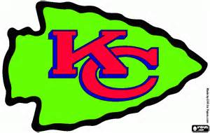 chiefs colors kc chiefs coloring pages