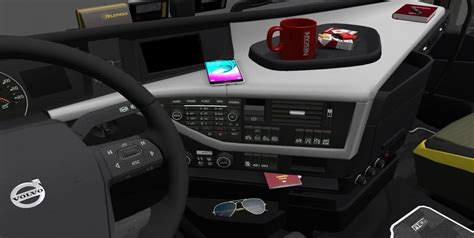 new volvo fh16 accessories interior v2 ets 2 mods