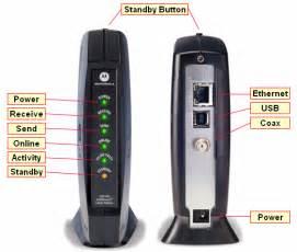 motorola surfboard lights cable modem troubleshooting motorola sb5100 simple help