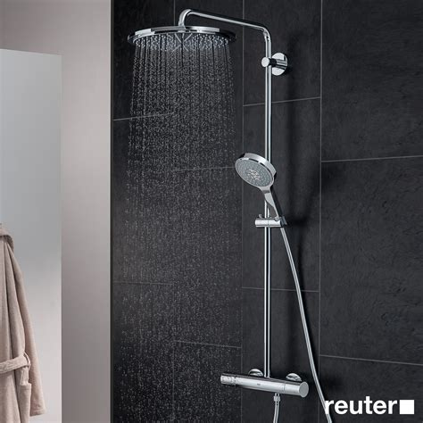 Rainshower Dusche by Grohe Rainshower System 310 Shower System With Thermostat