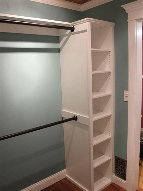 how to remodel a closet master bedroom closet idea for the home pinterest