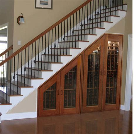 under stair ideas half wall ideas by staircase joy studio design gallery