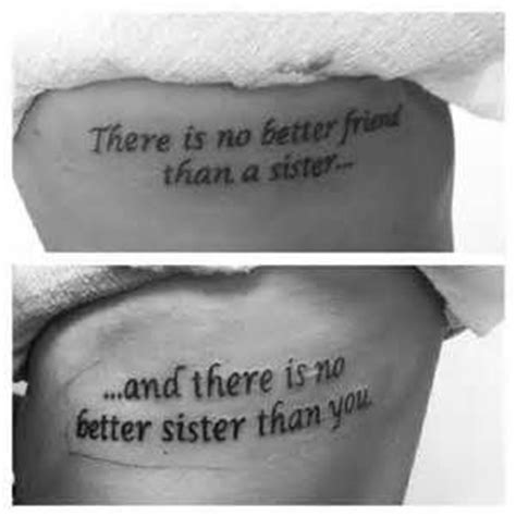 tattoo quotes that aren t cheesy 1000 ideas about matching sister tattoos on pinterest