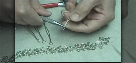 how to make metal jewelry how to make a silver figure 8 link jewelry