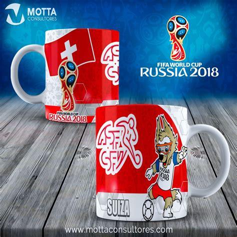 plantillas para tazas mundial rusia fifa 2018 fifa