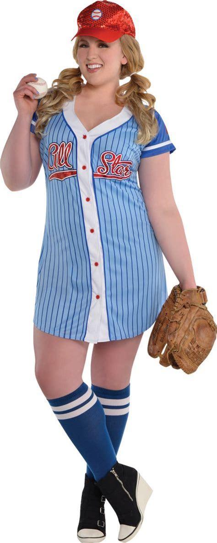 Costume Baseball baseball costume plus size city