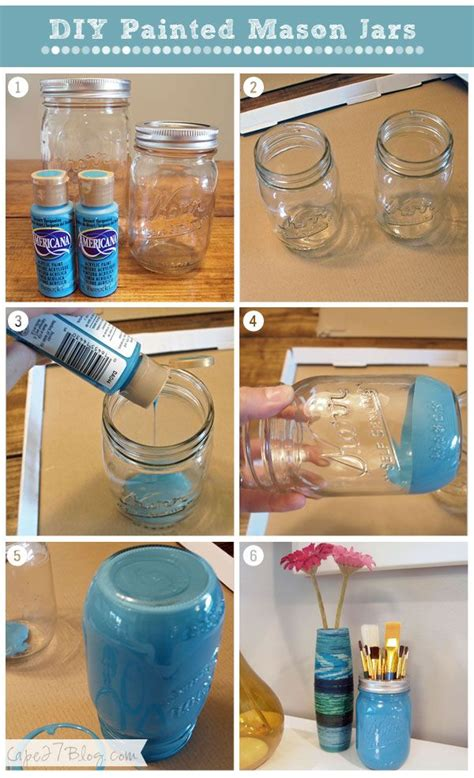 25 best ideas about paint mason jars on pinterest