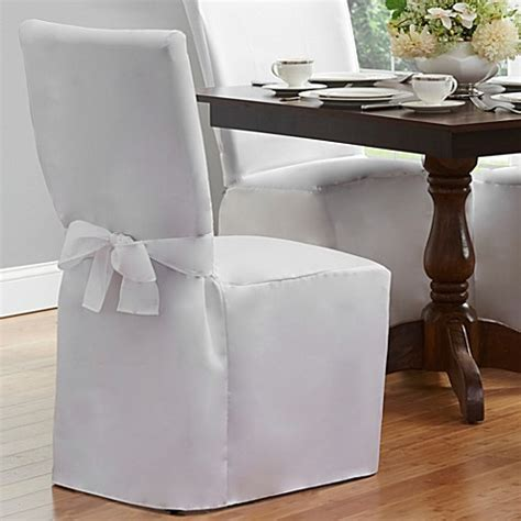 Covering Dining Chair Seats Dining Room Chair Cover Bed Bath Beyond