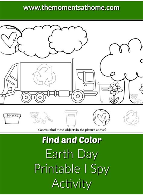 Free Printable Activities For Earth Day
