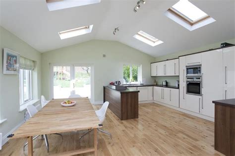 kitchen extensions ideas extension ideas pinterest kitchen extension like the pitched roof and skylights