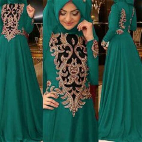 desain baju india muslim baju maxi long dress cantik model terbaru murah