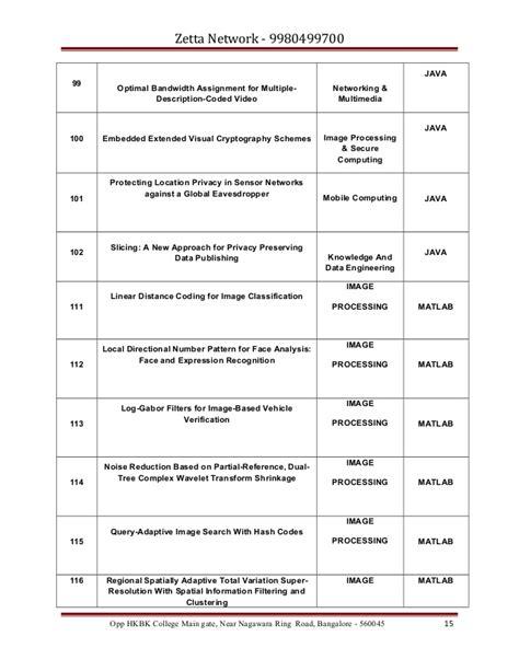 pattern recognition vtu vtu computer science engineering information science
