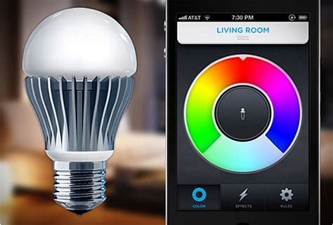 smartphone light control lifx smartphone controlled light bulb