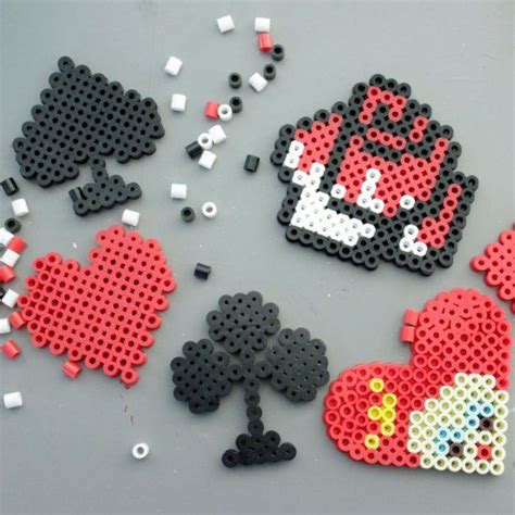 bead craft ideas for perler and magnets on