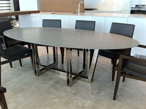 Caesar Dining Table Robert N Wohlfeld Inc Caesar And Polished Nickel Quot Oscar Quot Base Dining Table