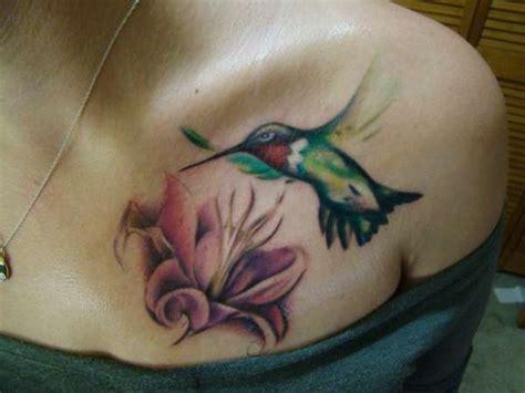 tattoo hummingbird flower hummingbird flower tattoo