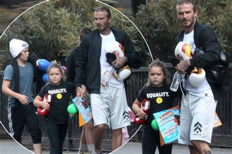 New Beckham Edward 8095 one of the boys an adorable beckham joins david and romeo for a family boxing
