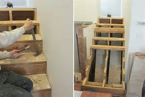 Installing Stair Nosing by Home Coming How To Install Stair Tread Amp Risers