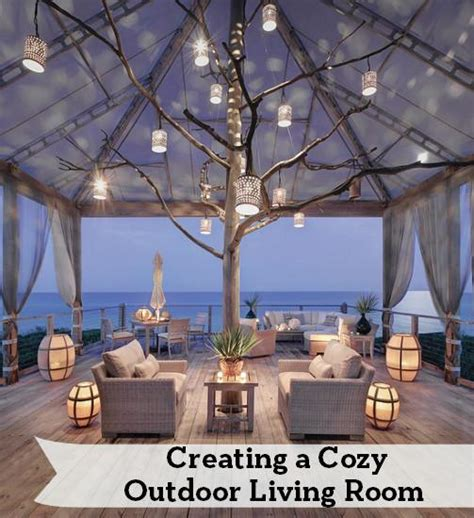 creating an outdoor living space how to create a cozy outdoor living room entertaining design