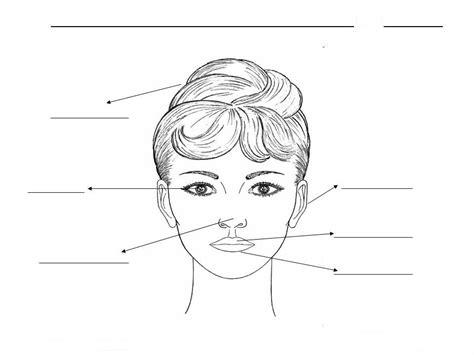 partes de la cara dibujo para colorear partes de la cara para colorear imagui