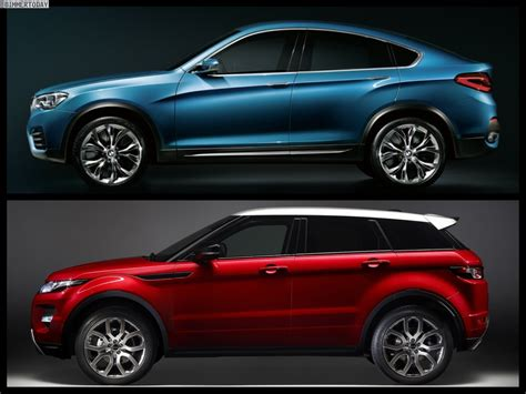land rover bmw bmw x4 vs range rover evoque pin x cars