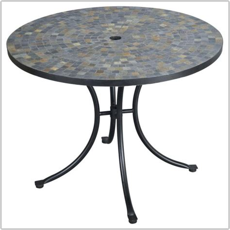 Patio Table With Tile Top Home Design Ideas And Pictures Tile Top Patio Table