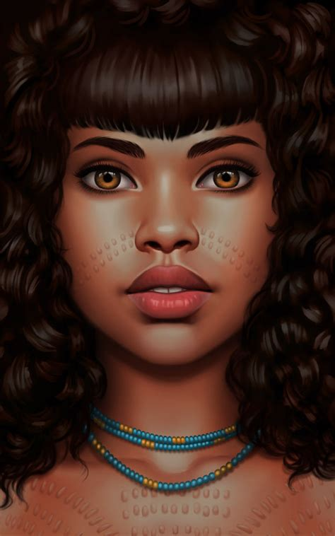 black woman portrait by florin chis on deviantart african scarification by danielauhlig on deviantart