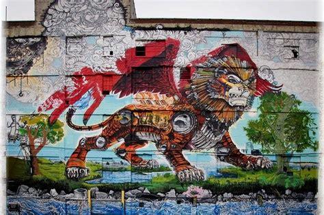 detroit chimera graffiti mural russell industrial center