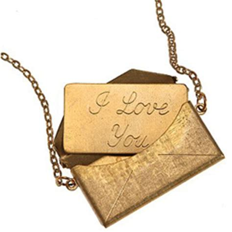 I Envelope Necklace From Outfitters by Message Envelope Necklace What S Haute