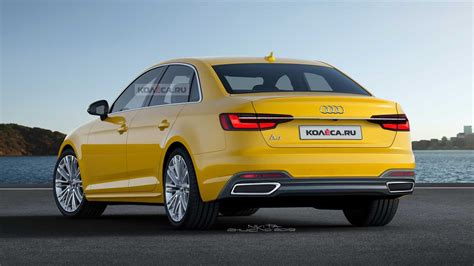 audi facelift a4 2020 2020 audi a4 facelift render could pass as the real deal