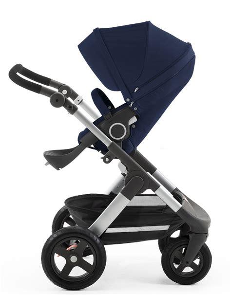 Gb Stroller 008 Q Fold Blue stokke trailz stroller all terrain all new free shipping