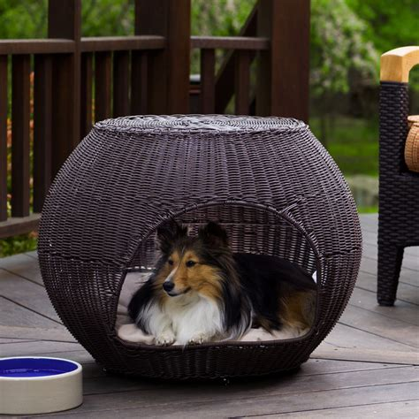 outside dog bed outdoor igloo dog bed traditional dog beds other