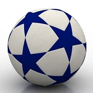 how to make 3d star and balls football 3d model 3ds gsm free open3dmodel